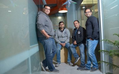 Milkbasket Founders (L-R) Anant Goel, Ashish Goel, Anurag Jain, Yatish-Talvadia