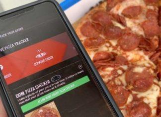 Domino's pizza checker system