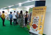 Visitors at Vegan India Expo 2019 at the NSIC Exhibition Grounds in Delhi