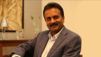 VG Siddhartha, founder-chairperson Cafe Coffee Day