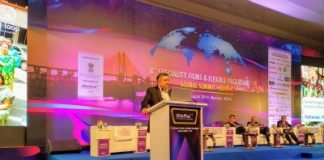 Arup Basu, managing director, Huhtamaki PPL at 8th Speciality Films & Flexible Packaging Global Summit 2019