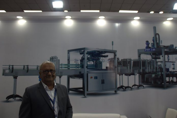 Mallikarjun Kulloli, director, Mas Systech at pacprocess. Photo PSA
