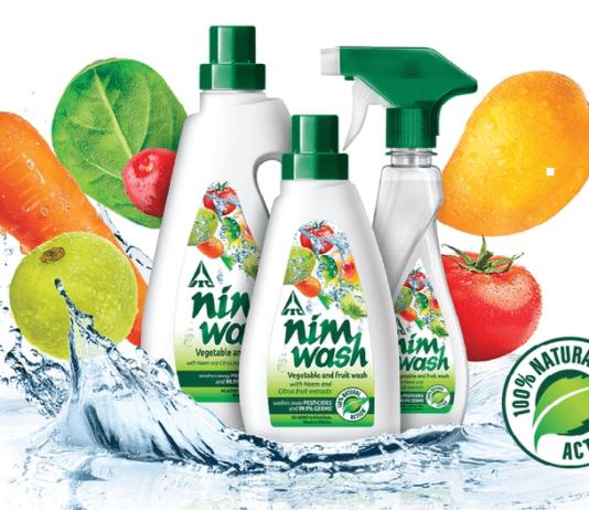 NimWash vegetable and fruit wash