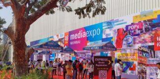 Previous Media Expo at the Bombay Exhibition Centre