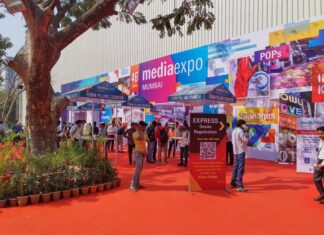 Previous Media Expo at the Bombay Exhibition Centre
