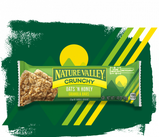 Nature Valley new crunchy granola bar wrappers