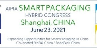 The AIPIA Global Smart Packaging Program for 2021 comes to China on 23 June