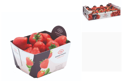 Strawberries tracked through QR and RFID combination