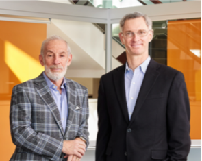 L to R – Steve Shifman current president and CEO of Michelman and Dr Rick Michelman who will take over from him on 1 January 2022 Photo Michelman