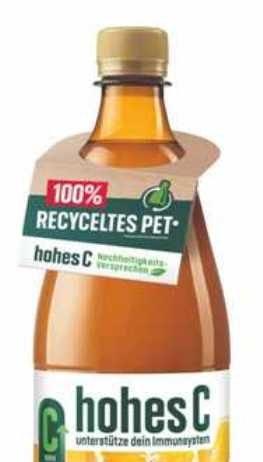 Eckes-Granini hohes C PET juice bottles