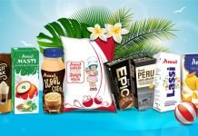 Amul's dairy products