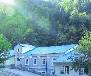 Sakartvelo bottling plant located in Western Georgia