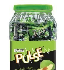 DS Group's rPET jar for its market leading Pulse hard boiled candy Photo DS Group