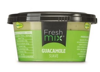 Avomix guacamole product with IML label
