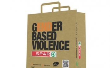 Mondi reusable shopping bag for the customers of Spar South Africa